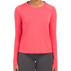 NWT UNDER ARMOUR Terry Crew Neck Top XS